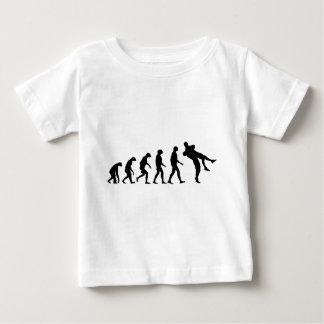 Evolution des Wrestlings Baby T-shirt