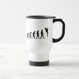 Evolution Gebirgsdes kletterns Reisebecher