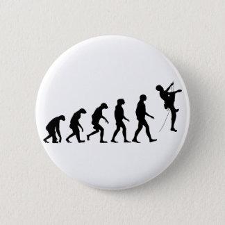 Evolution Gebirgsdes kletterns Runder Button 5,1 Cm