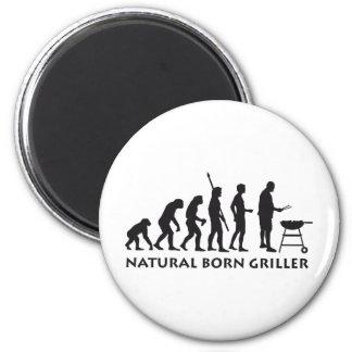 evolution grill runder magnet 5,7 cm
