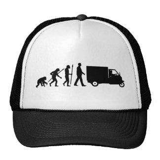 Evolution of man Piaggio Ape mini transporter Kultkappe