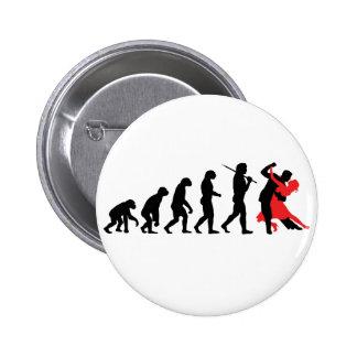 Buttons mit Evolution-Design bei Zazzle
