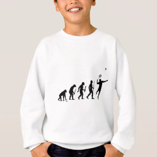 Evolution von Badminton Sweatshirt