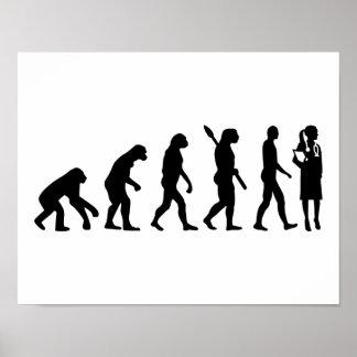 Evolutionsfraudoktor Poster