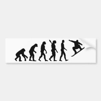 EvolutionSnowboardingSnowboard Autoaufkleber