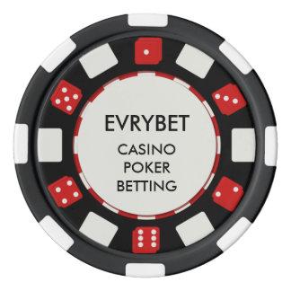 EvryBet Kasino-Chips Poker Chip Set