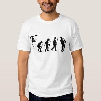 Evvolution des Saxophons T-shirt