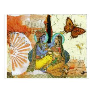 Ewige Liebe Postkarte