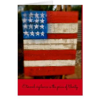 Ewige Wachsamkeit des Veterans Tages Karte