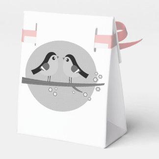 Exklusive Hochzeit Geschenkboxen mit Liebe Vögeln Geschenkschachteln