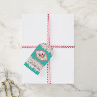 Exklusives 4 Sie von den Geschenkanhänger