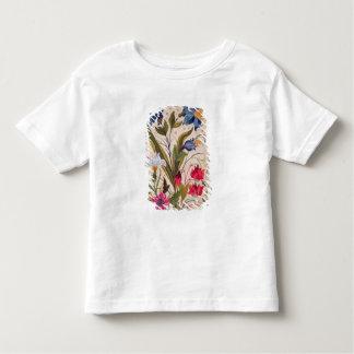 Exotische Blumen mit Insekten Kleinkinder T-shirt