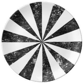 Explosion (Briefbeschwerer-Art-Hintergrund) Porzellanteller