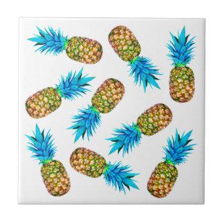 Extravagante Ananas Kleine Quadratische Fliese