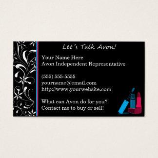 Extravagante Avon-Geschäfts-Karte Visitenkarte