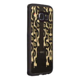 Extravagante Cheetah-Camouflage Handyhülle Aus Holz