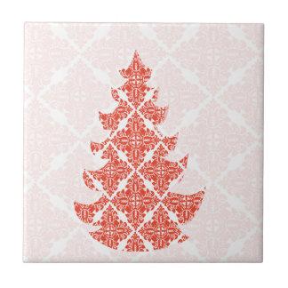 Extravagantes Luxusweihnachtsklassisches Kleine Quadratische Fliese