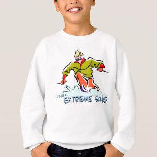 Extremes Skifahren Sweatshirt