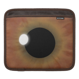 eyePad Brown-Augen-Iris horizontale iPad Sleeves Für iPads