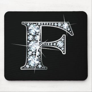 """F-"" Diamant Bling Mousepad"