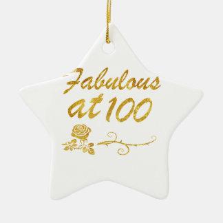 Fabelhaft bei 100 Jahren Keramik Stern-Ornament