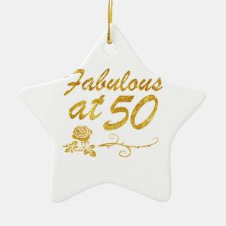 Fabelhaft bei 50 Jahren Keramik Stern-Ornament