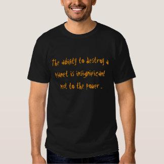 Fähigkeit, ein Planeteningwer ninja T-Shirt zu