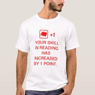 Fähigkeit in der Lesung T-Shirt