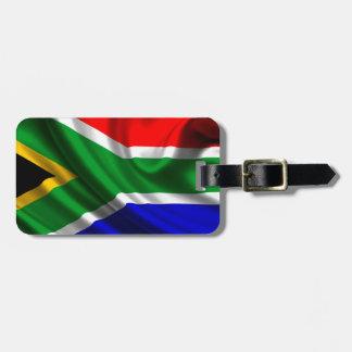 Fahne Afrika Kofferanhänger