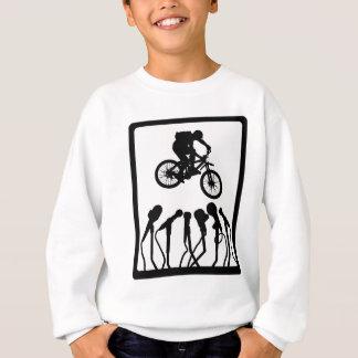 Fahren Sie die Show rad Sweatshirt