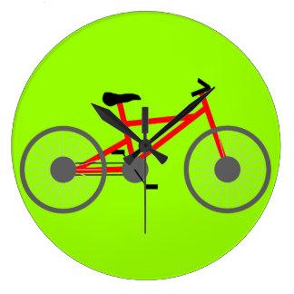 Fahrrad-runde Uhr