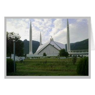 Faisal Moschee 1 Eid Grüße Karte
