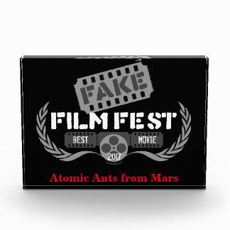 Fake-Filmfest-Sieger Acryl Auszeichnung