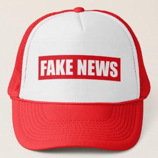 Fake-Nachrichten-Fernlastfahrer-Kappen-Hut Truckerkappe