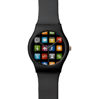 Fake smartphone Uhr mit APP-Ikonen