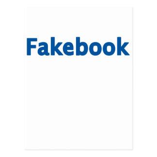 Fakebook Postkarte