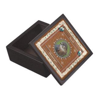 Falke - Bote-Holz-Geschenkboxen Kiste