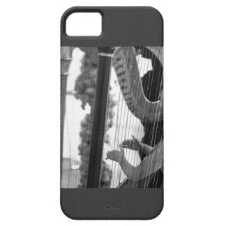 FALL DER HARFEN-UND HARPIST-GEWOHNHEITS-IPHONE 5 iPhone 5 HÜLLE