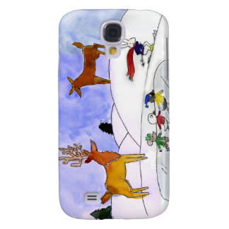 Fall der Schnee-Szenen-iPhone3G Galaxy S4 Hülle