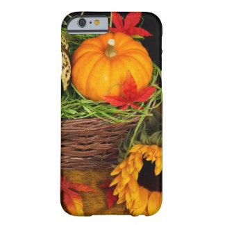 Fall-Jahreszeit-Ernte-glücklicher Erntedank Barely There iPhone 6 Hülle
