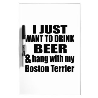 Fall mit meinem Boston Terrier Memoboard