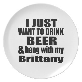 Fall mit meiner Bretagne Teller