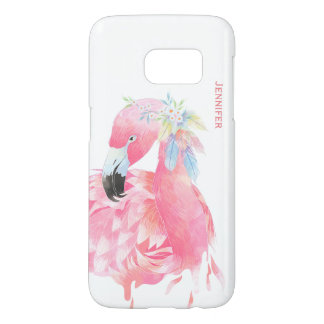 Fall schicker rosa Flamingo-kundenspezifischer