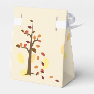 Fallbaum, Hochzeit im Herbstsbevorzugungskasten Geschenkschachtel