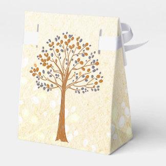 Fallbaum rustikaler Gastgeschenk Hochzeitskasten