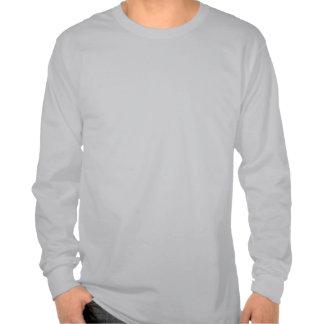 Fallende Sterne Od-Grau-T-Stück T Shirts