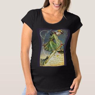 Falln Ostern Hexe Schwangerschafts T-Shirt