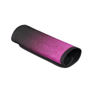 Falln rosa u. schwarze Glitter-Steigung Gepräckgriffwickel