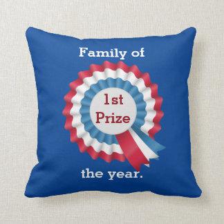 Familie des Jahres - erster Preis-Kissen Zierkissen