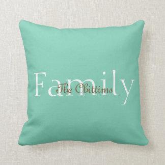 Familie Kissen-Fertigen besonders an Kissen